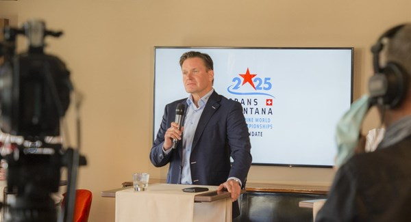 Video presentation for the Crans-Montana 2025 World Championships candidature