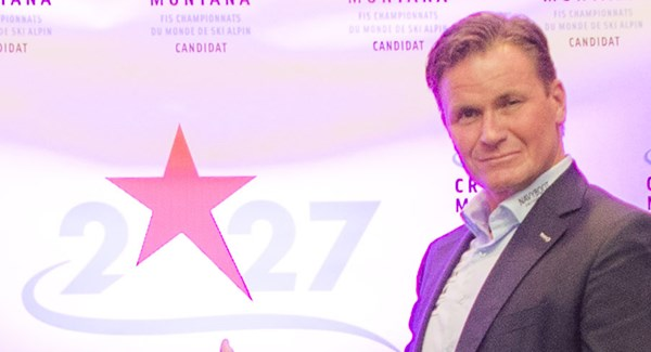 "Urs Lehmann: ""100 points for Crans-Montana's bid for the 2027 Worlds"""